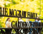 McGraw Garden of the Senses Opening