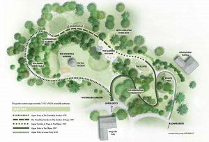 McGraw Garden Map