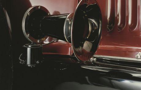 1919 Pierce-Arrow Model 48 Touring Horn