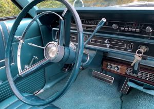 1965 Ford Country Squire Station Wagon Interior