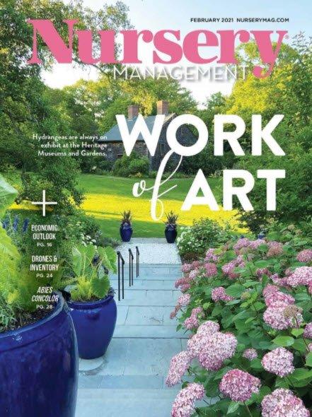 News, Magazine cover , Nursery Management