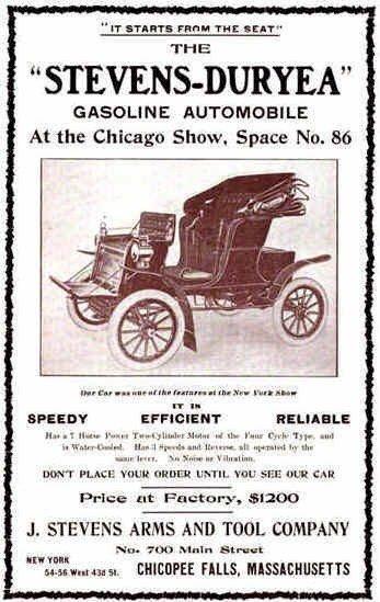 1903 Stevens-Duryea Ad