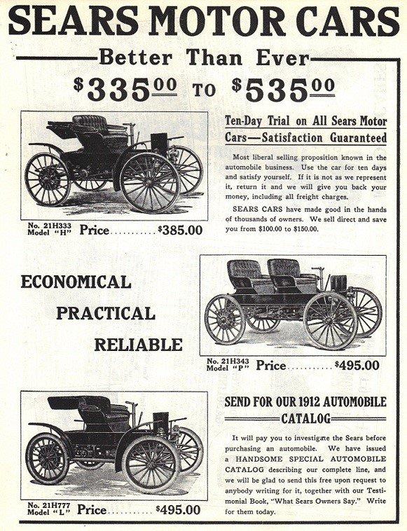 1910 Sears Surry Ad